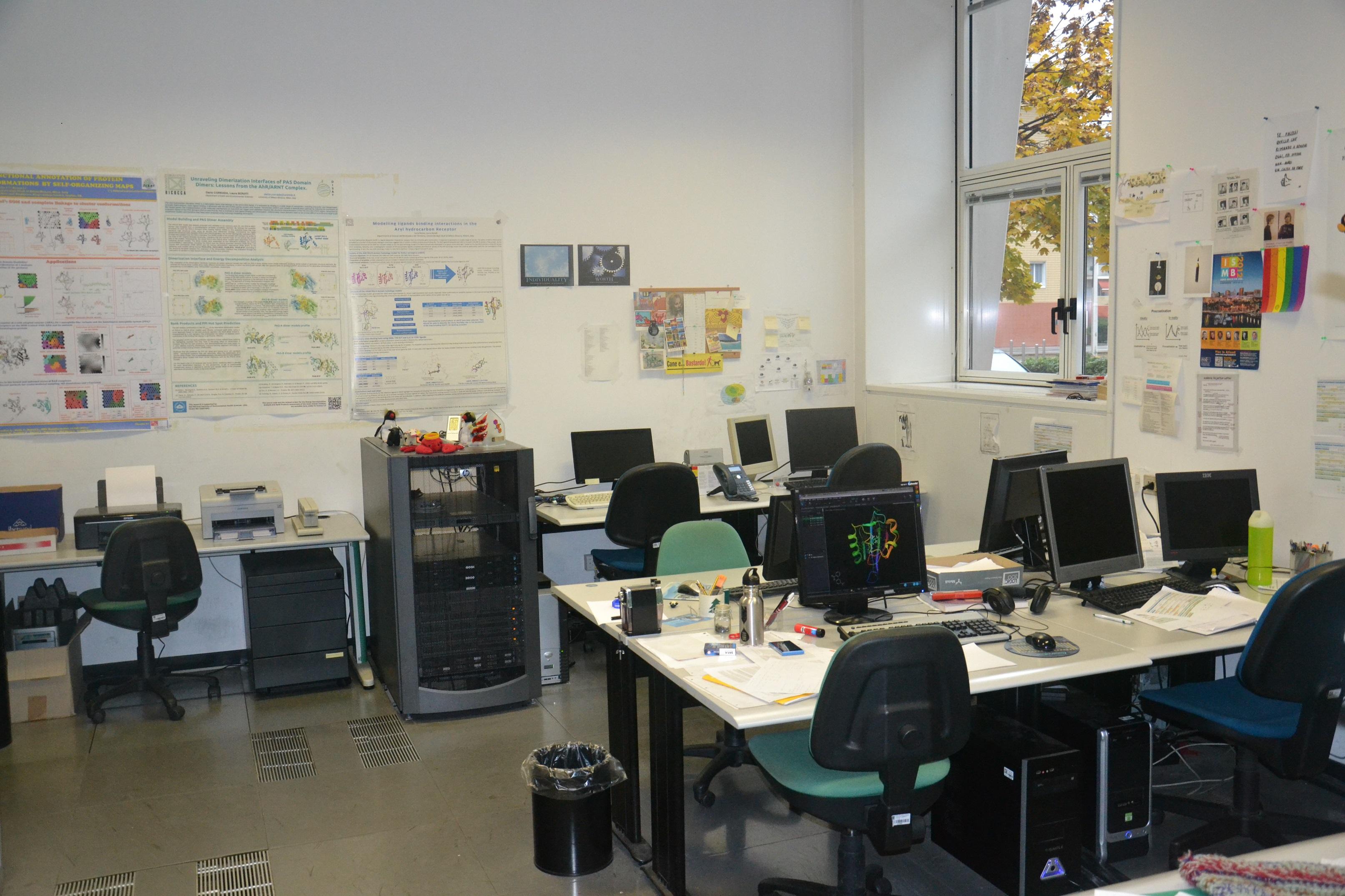 Laboratorio di modellistica molecolare