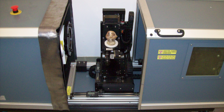 microCT and turntable