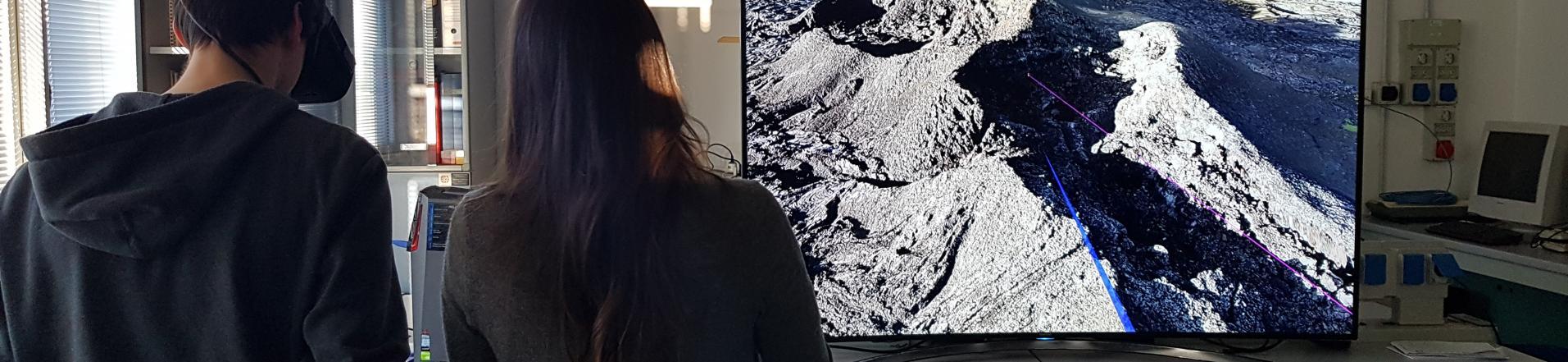geologia in realtà virtuale
